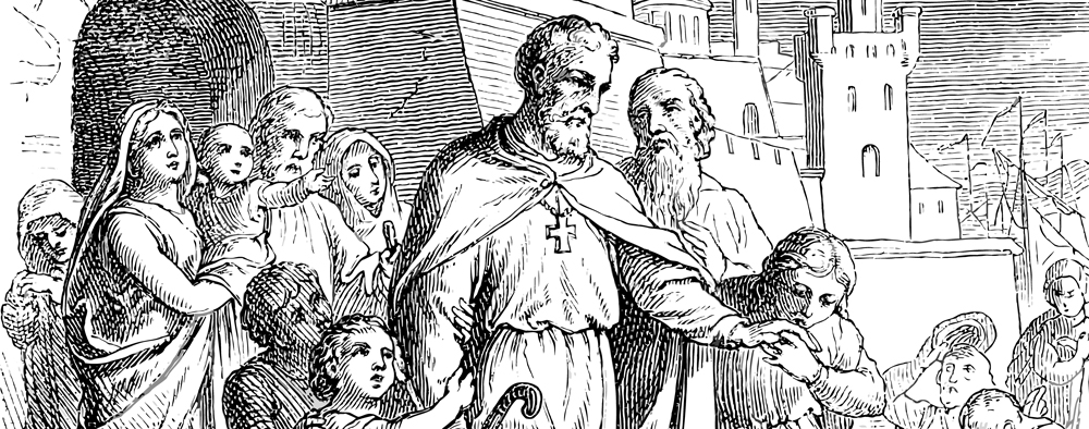 Atanasio camino al exilio