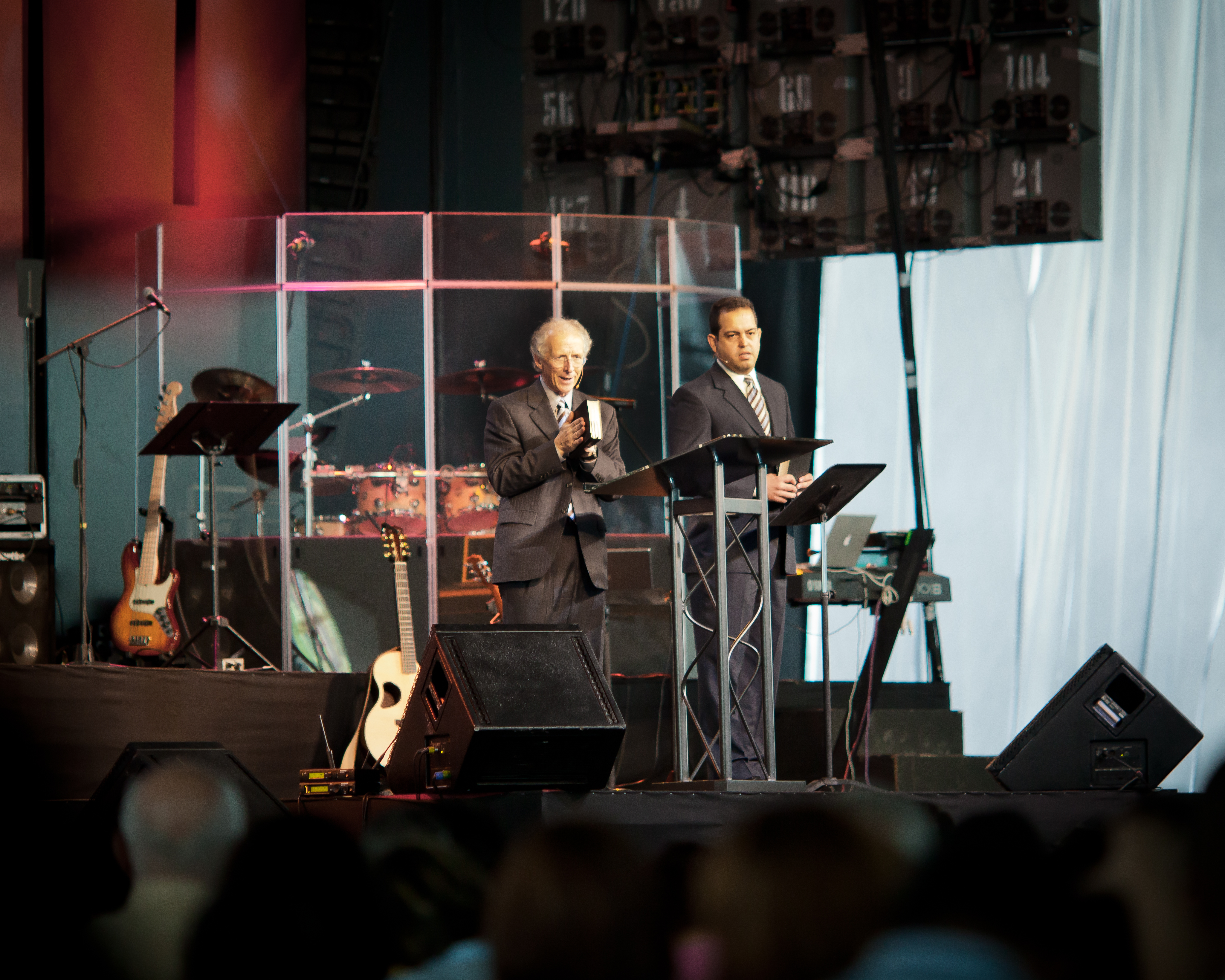 John Piper speaks in the Dominican Republic in 2010.