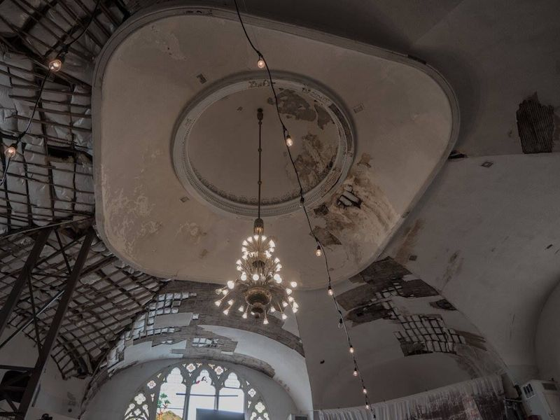 Clayborn Temple ceiling / Photo by Justin Harrison