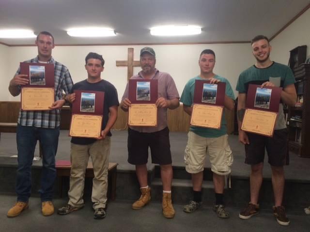 Graduates of Freedom Farm's restoration phase / Photo courtesy of Jim Quigley
