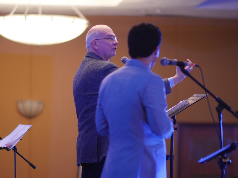 Tim Keller at a conference in Mexico City.