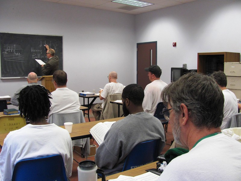 A Divine Hope class at ISP