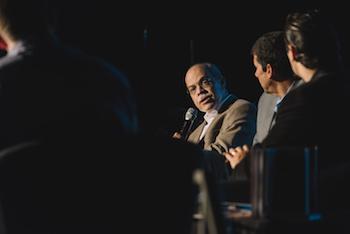Miguel Núñez at a Coalición conference in Guatemala.
