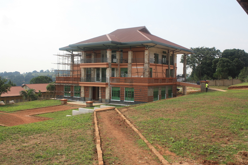 New construction at Africa Renewal University / Photo courtesy of Jeff Atherstone