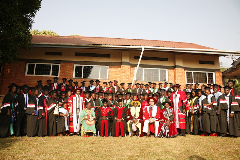 Graduation at Africa Renewal University this summer / Photo courtesy of Jeff Atherstone