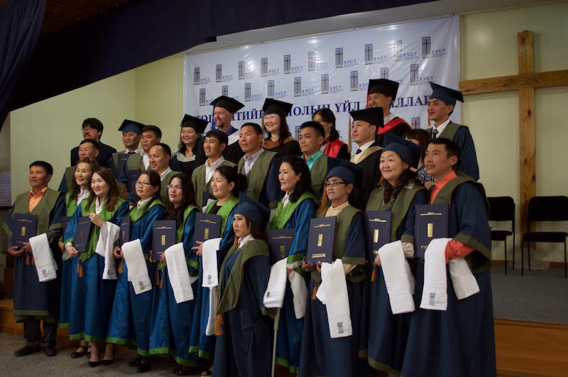 Graduates from Kingdom Leadership Training Center / Photo by Mark Wood