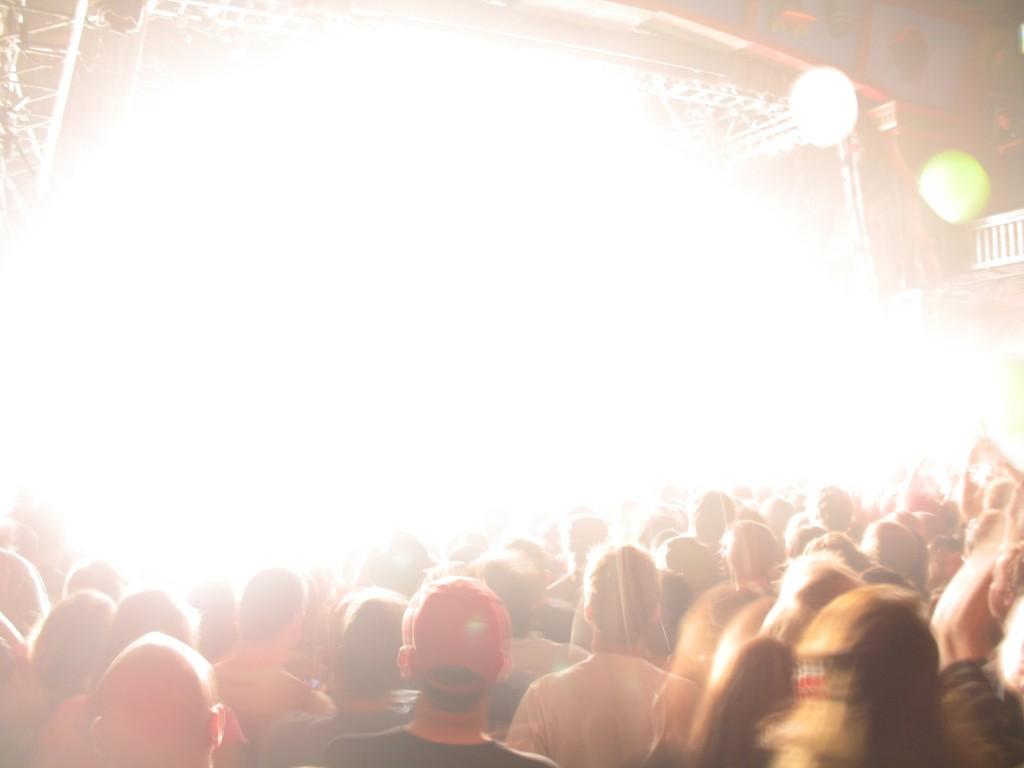blinding light