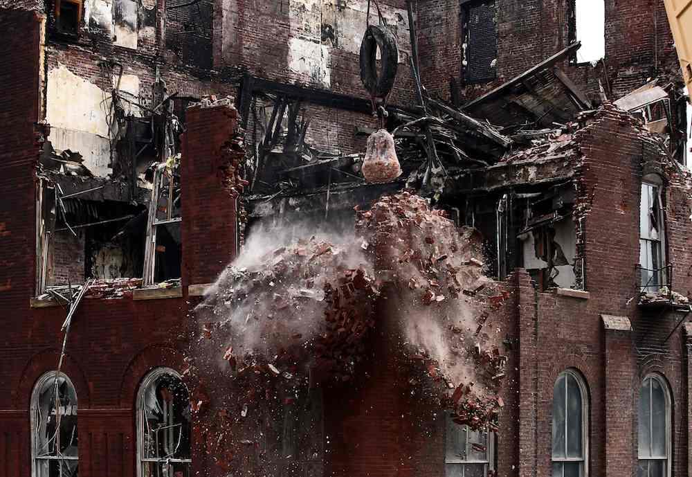 Newcomb Demolition