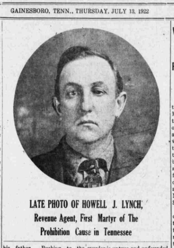 Jackson Co Sentinel (TN) 1922 LYNCH