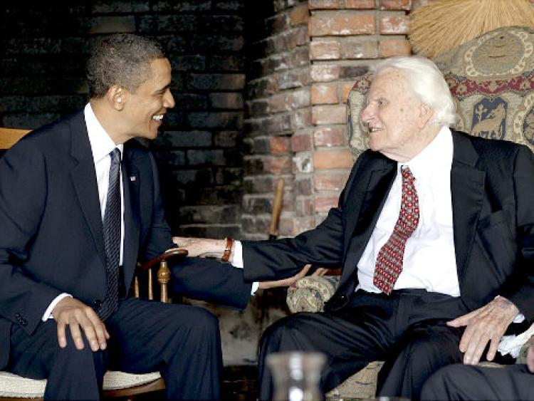 Billy Graham and Barack Obama