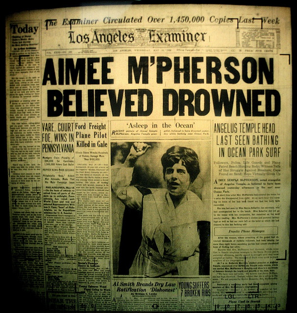 "aimee mcpherson ""scandalous"" tells the story of aimee semple mcpherson, a celebrity preacher in the 1920s and '30s who helped lay the foundations on which the modern evangelical movement was built."