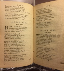 """George Whitefield's """"A Collection of Hymns for Social Worship"""" (London, 1753), Rare Book and Special Collections Reading Room, Library of Congress."""