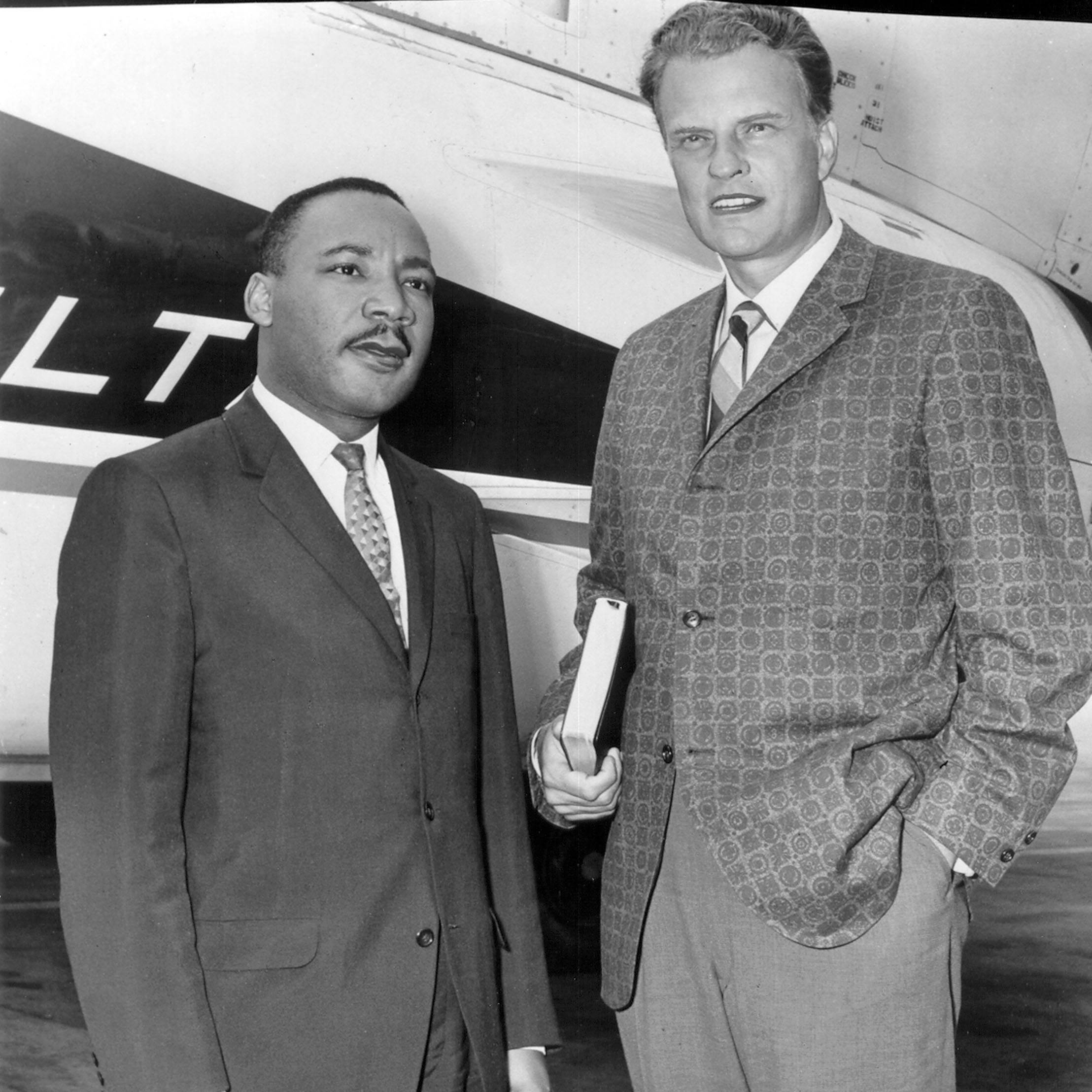 Billy Graham and Martin Luther King