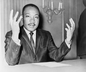 Martin Luther King, Jr., Library of Congress, Public Domain.