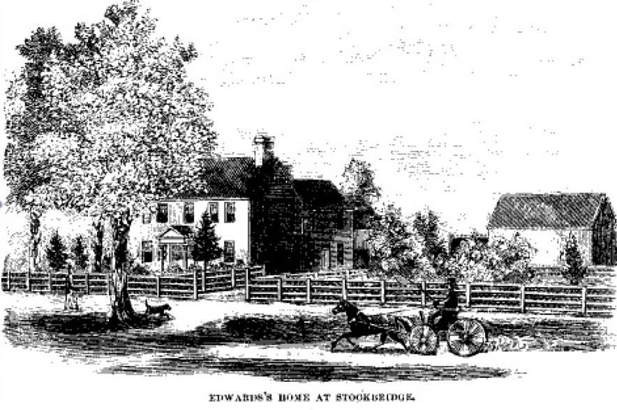 Jonathan Edwards home at Stockbridge
