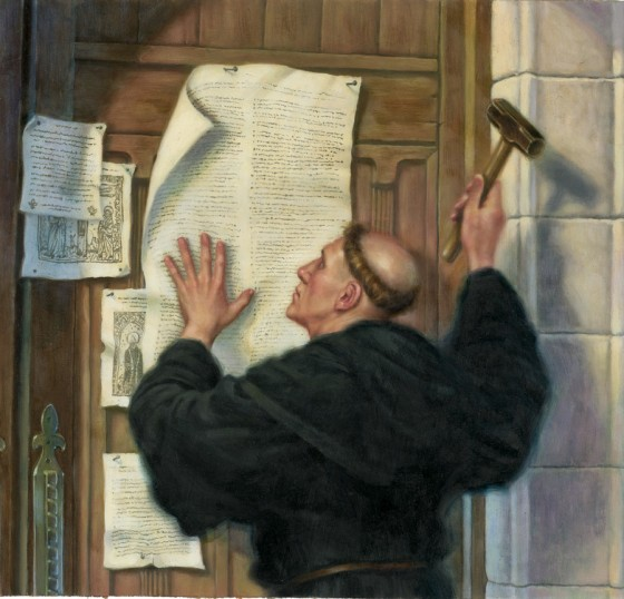 martin luther 96 thesis