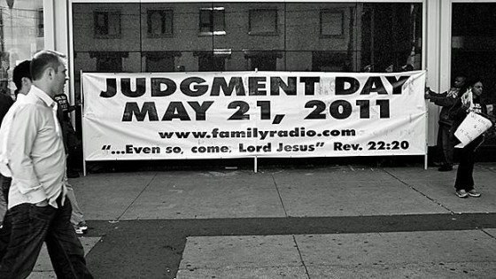 may 21 judgement day. Judgment Day: May 21, 2011?