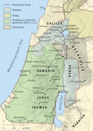 7 differences between galilee and judea in the time of jesus