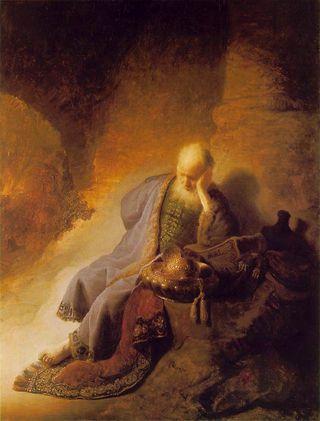 Jeremiah(Rembrandt)