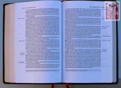 How Was the Single Column Legacy ESV Bible Designed and