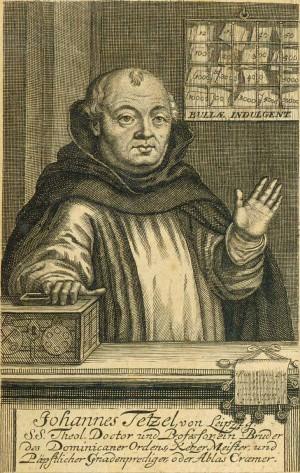 Johann Tetzel (1465-1519), a Roman Catholic German Dominican friar and preacher.
