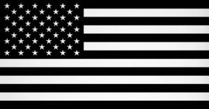 american-flag-black-and-white