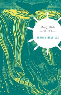 moby-dick-or-whale-charles-feidelson-paperback-cover-art
