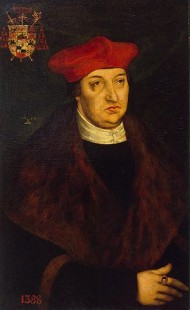 Albert of Mainz, painted by Lucas Cranach the Elder (1526)