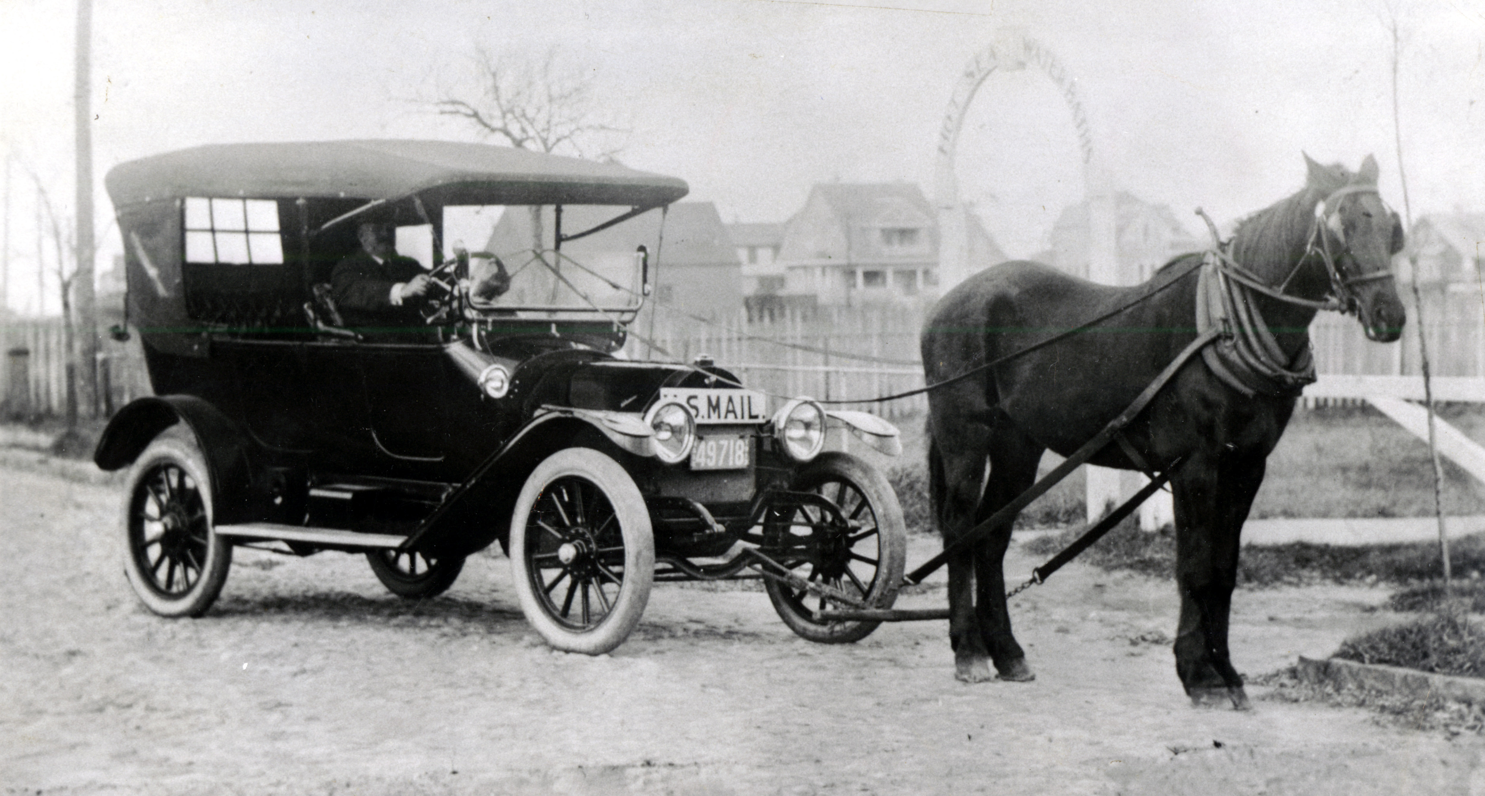 Horse Drawn Us Mail Car Jpg