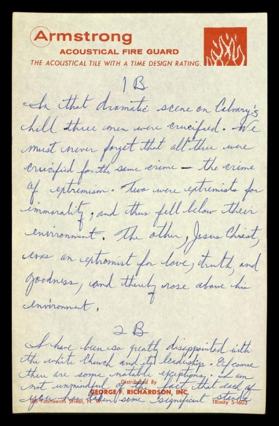 """martin luther king jr., """"letter from birmingham jail"""": the complete"""