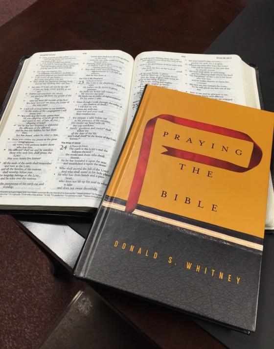 Prayingthebible