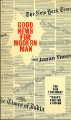 Good News for Modern Man, 1st edition (1966).