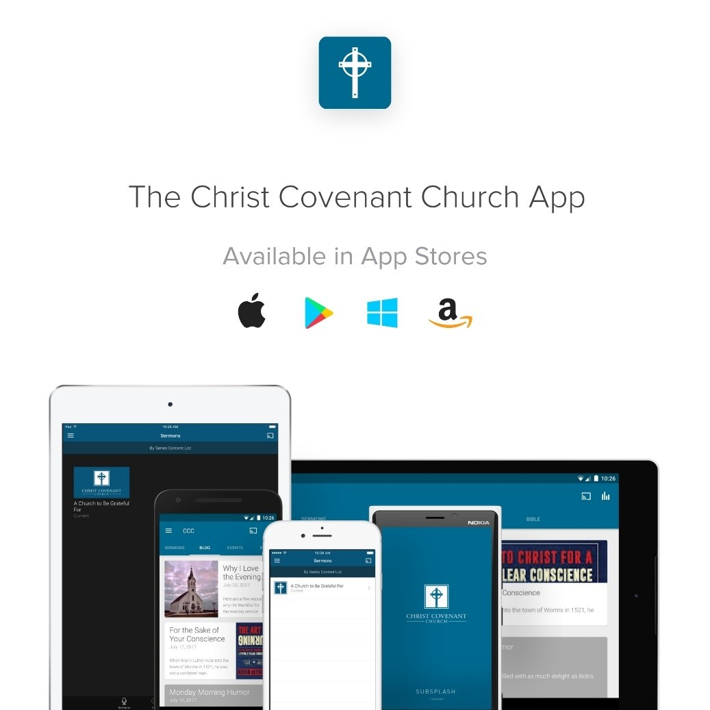 Christ Covenant Church Website Redesign and New App