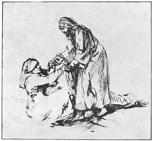522px-Rembrandt_Heilung_der_Schwiegermutter_des_Petrus