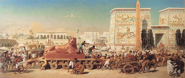 600px-1867_Edward_Poynter_-_Israel_in_Egypt