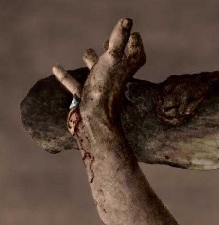 handnailedtocross-Jesus