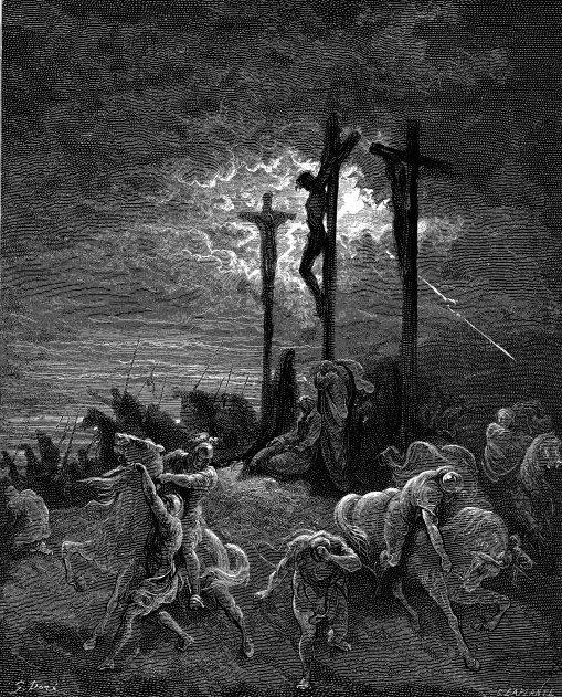 42Luk23_44_TheDarknessAtTheCrucifixionDore