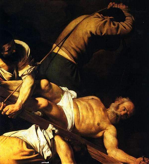 7-Crucifixion-of-St-Peter-Caravaggio