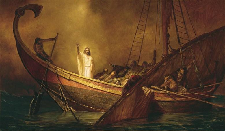 Resultado de imagen para jesus calma la tempestad
