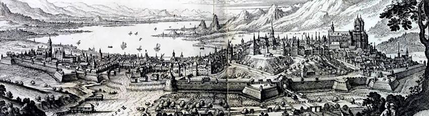 Ginebra en el lago de Ginebra