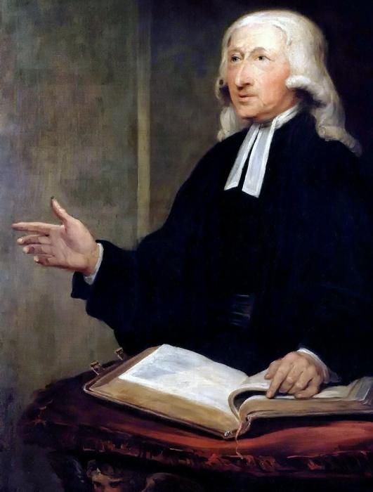 Wesley rechazó famosamente el Calvinismo