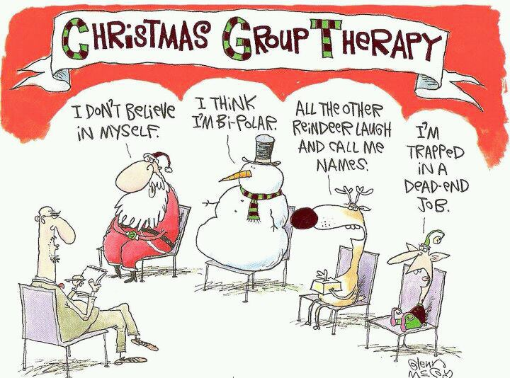 Friday Funny  Christmas Group Therapy TGC T3mZfuWp