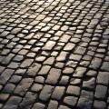 sunny roman cobbles