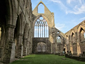 Tintern Abbey Inside