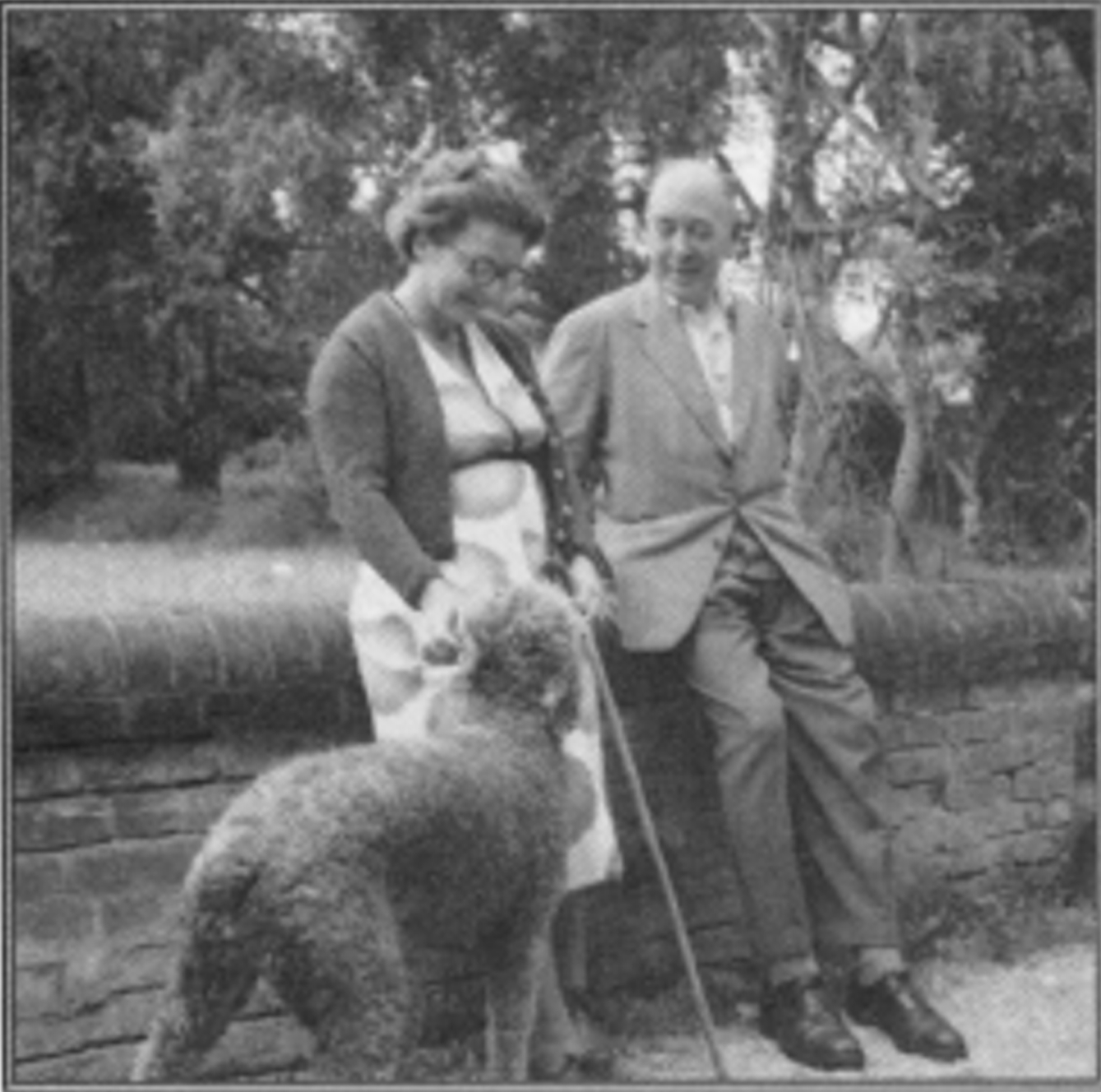 C.S. Lewis Talks to a Dog About Lust