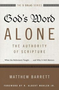 Cover of God's Word Alone by Matthew Barrett