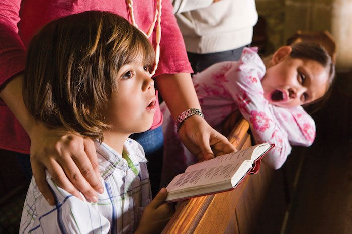 4 Reasons Your Kids Should Sit with You on Sunday