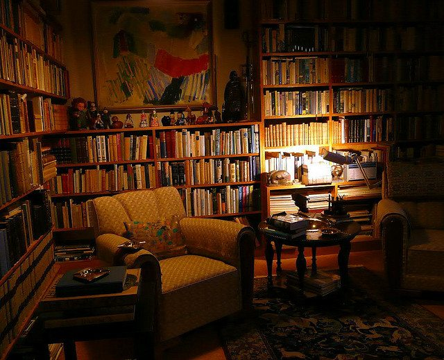 Library Office Room Cozy