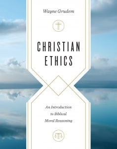 Cover of Christian Ethics: An Introduction to Biblical Moral Reasoning