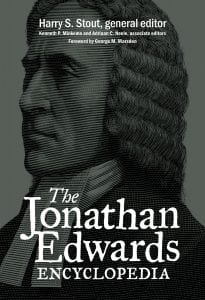 The cover of The Jonathan Edwards Encyclopedia
